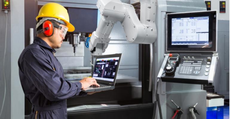 Backup de dados em máquinas com CNC