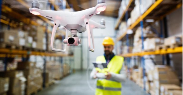 Drones na indústria