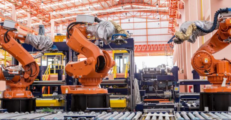 Fluxo contínuo de produção industrial