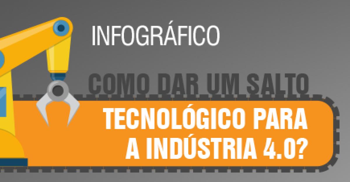 Como dar um salto tecnológico para a indústria 4.0?