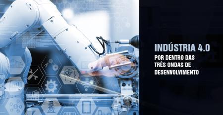 Indústria 4.0: as três ondas de desenvolvimento
